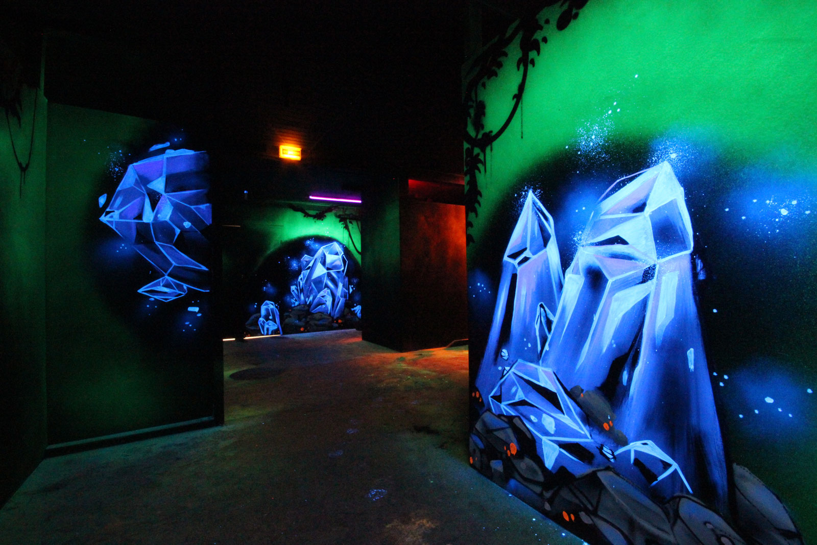 La salle de Laser Game de la Funky Factory - image 6