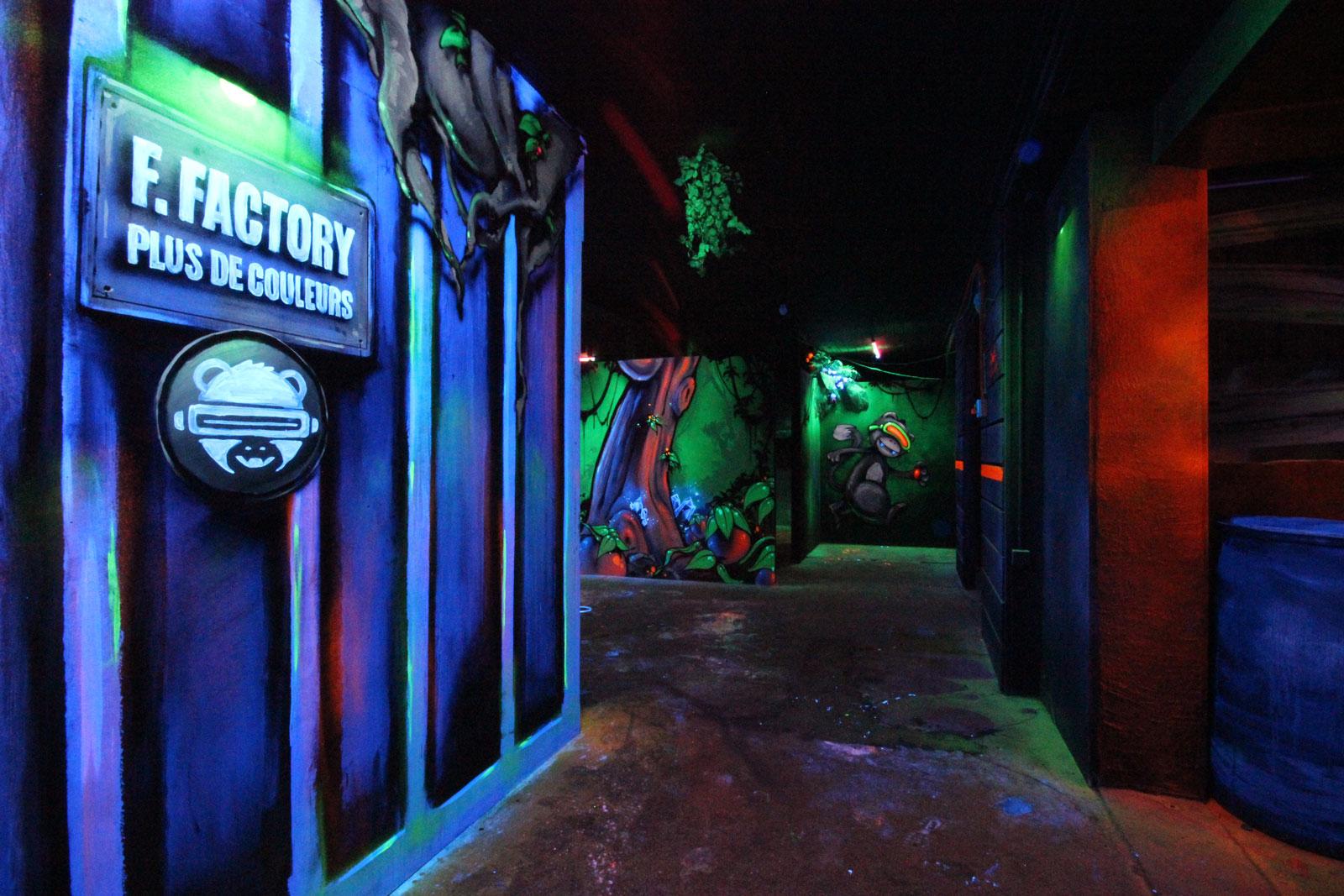 La salle de Laser Game de la Funky Factory - image 8