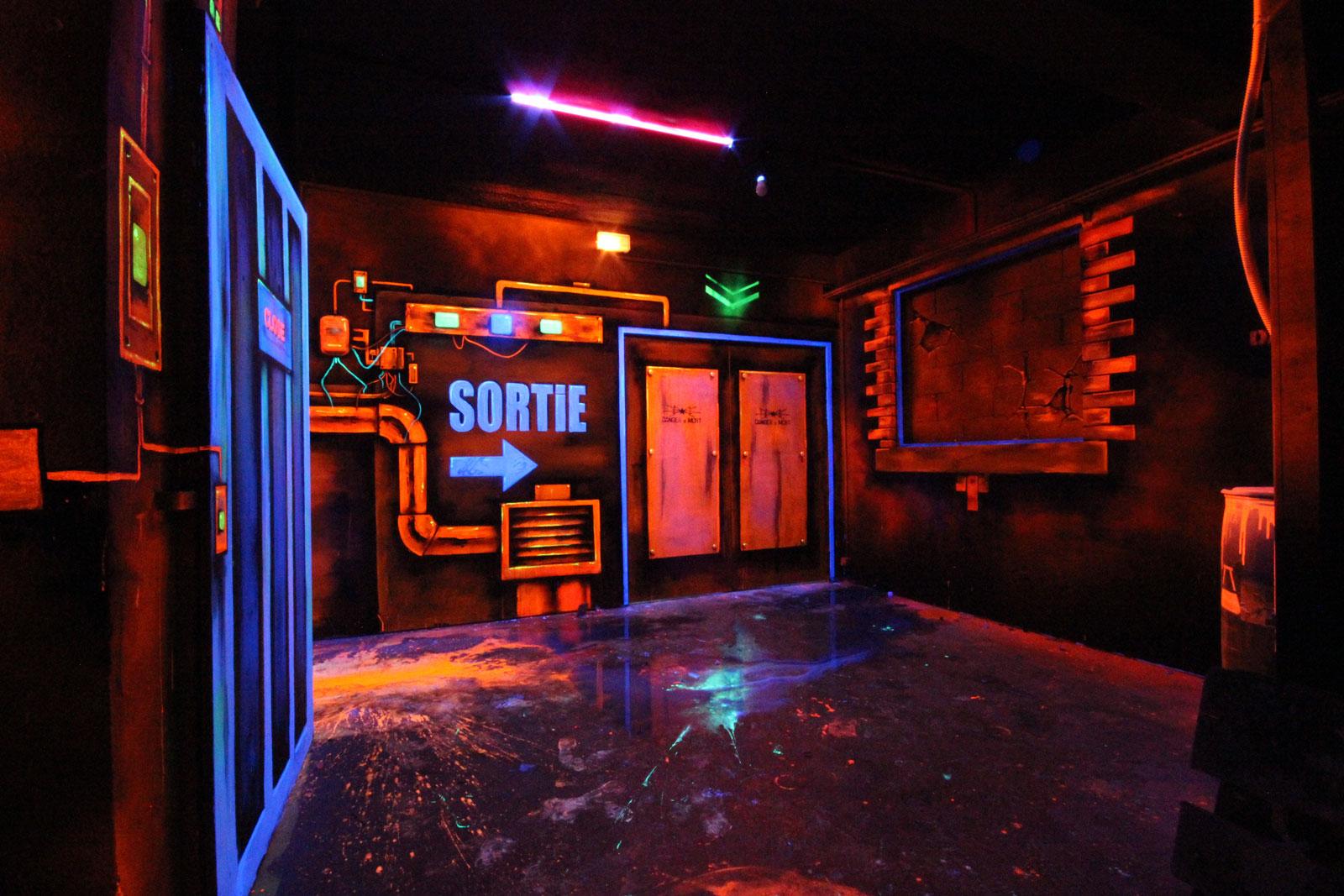La salle de Laser Game de la Funky Factory - image 10