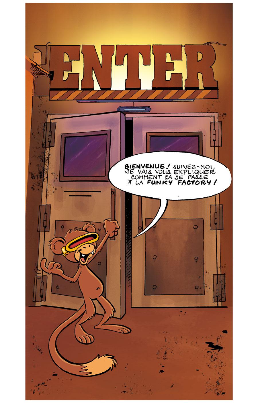 Funky Factory en BD - Page 1